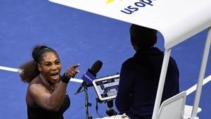 Buntut Final AS Terbuka, Serena Didenda Rp 250-an Juta