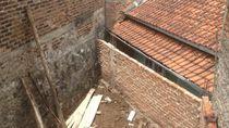 Begini Penampakan Rumah Eko yang Diblokade Tembok Tetangga