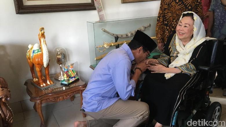 Momen Sandiaga Diberi Tempe Tak Setipis ATM oleh Istri Gus Dur