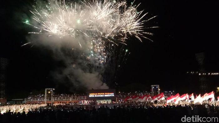 Perayaan Haornas di Ternate. (Foto: Amalia Dwi Septi/detikSport)