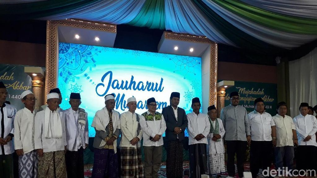 Kunjungi Magelang, Cak Imin Deklarasikan Jaringan Amar Maruf
