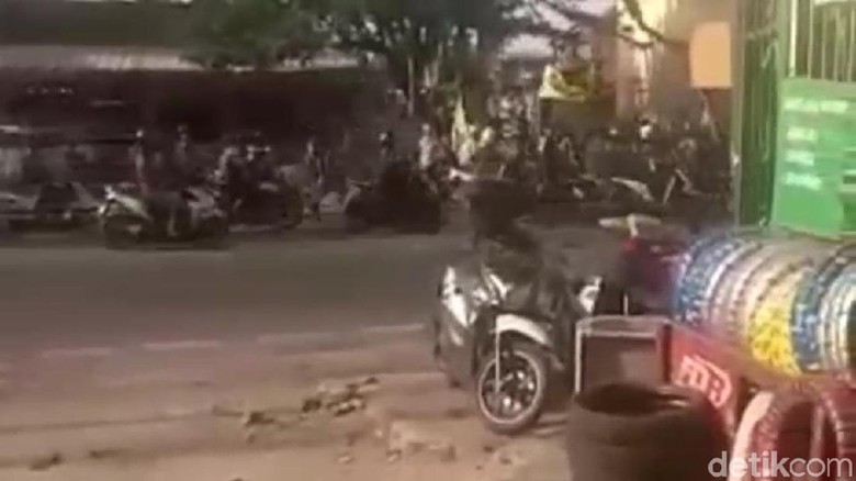 Polres Jaksel Patroli ke Gardu Ormas Pascabentrok