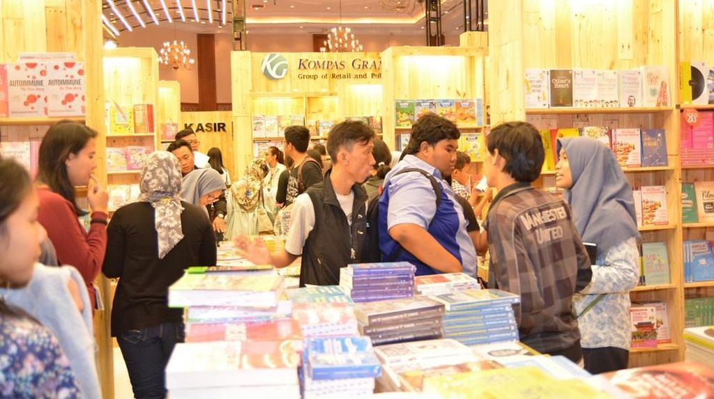 Puluhan Penerbit dari 17 Negara Gabung Indonesia International Book Fair 2018