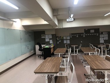 Ini suasana kelas primary sekolah Gempi di Sampoerna Academy, BSD, Bun.