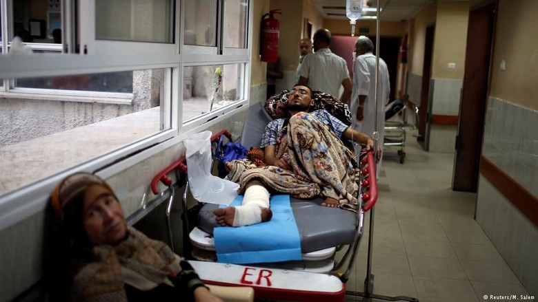 AS Kurangi Lagi Bantuan ke Rumah Sakit Palestina