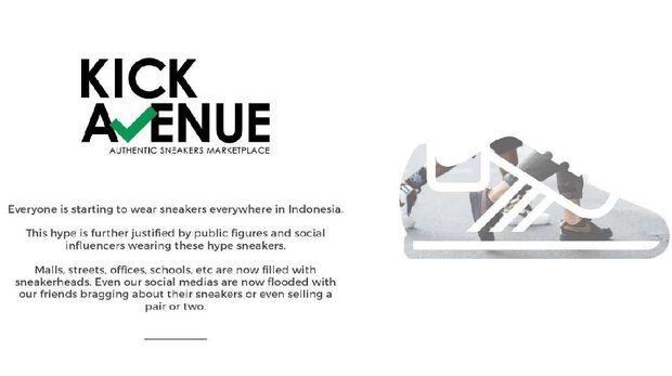 Kick Avenue, Merajut Mimpi Jadi Unicorn Lewat Sneakers