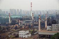 Pabrik Besi dan Baja di China
