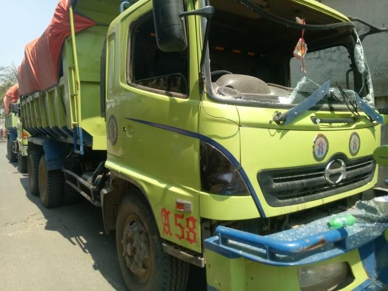 Polisi: Pelaku Perusakan 7 Truk di Kalideres adalah Anak Kecil
