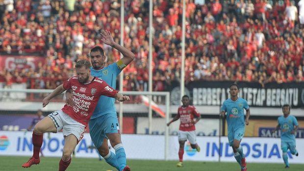 Bali United disebut-sebut menang atas Persela Lamongan karena sudah diatur. (