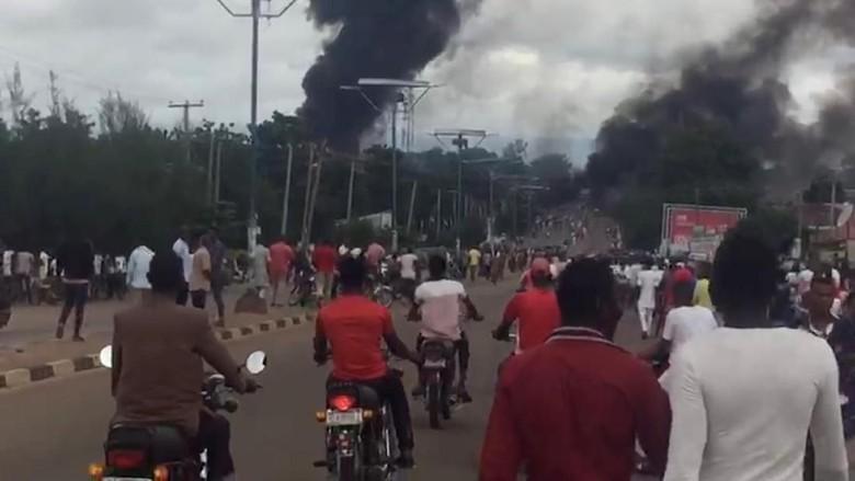 Truk Pembawa Gas di Nigeria Meledak, 35 Orang Tewas
