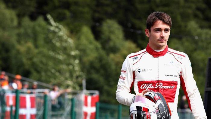Charles Leclerc jadi pengganti Kimi Raikkonen di Ferrari musim depan (Mark Thompson/Getty Images)