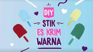 Mumpung Libur, Yuk Bikin Mainan Stik Es Krim untuk si Kecil