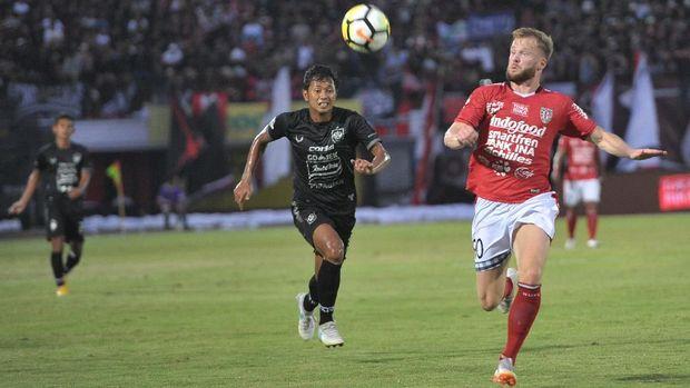 Di musim ini posisi Bali United di klasemen Liga 1 mengalami penurunan.