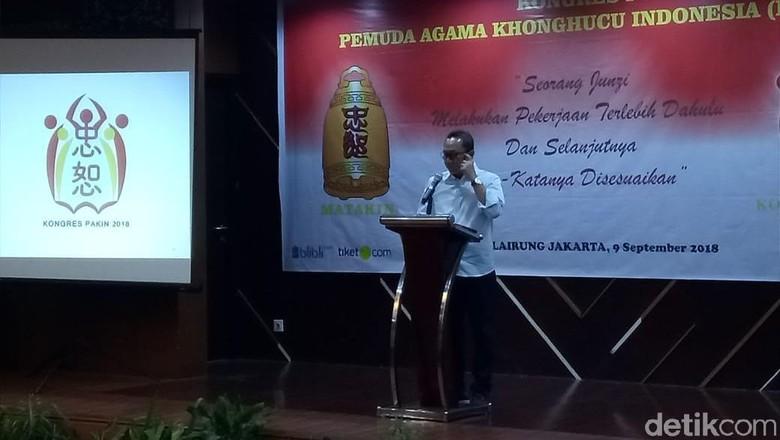 Zulkifli Hasan Hadiri Penutupan Kongres Pemuda Khonghucu Indonesia