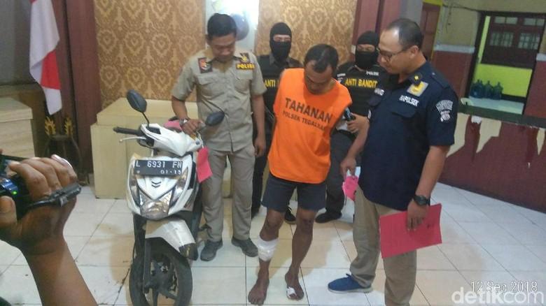 Pelaku Penjambretan di Surabaya Didor Usai Rampas HP Pelajar