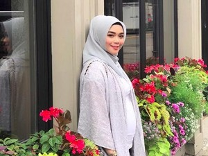 Hamil 5 Bulan, Sheza Idris Makin Cantik Deh