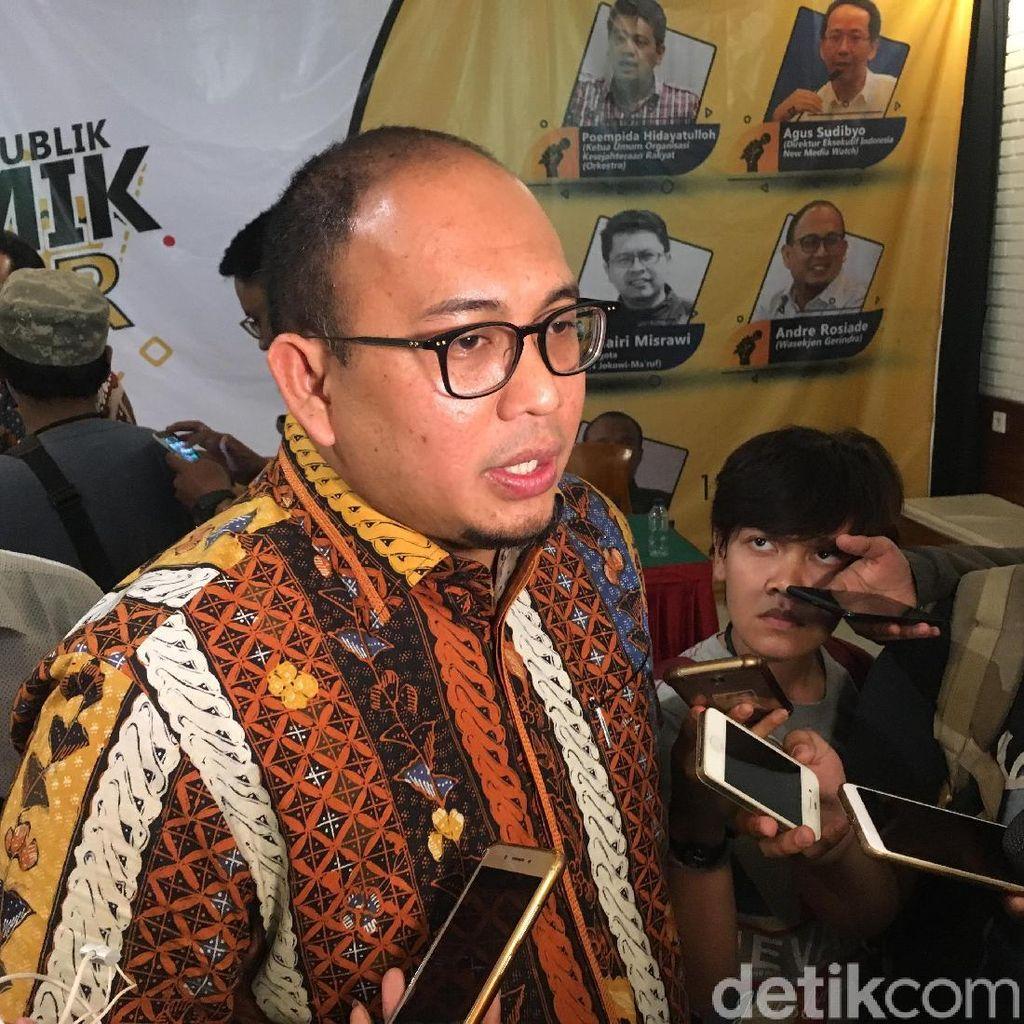 Tim Prabowo: Dukungan Ketua HIPMI ke Jokowi Berupa Gerbong Kosong