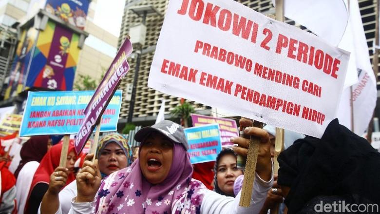 Aksi Permisi Tolak Politisasi Emak-emak di Pilpres 2019