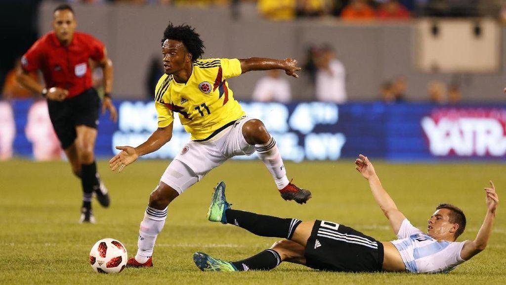 Hasil Uji Coba: Kolombia vs Argentina Berakhir Tanpa Gol