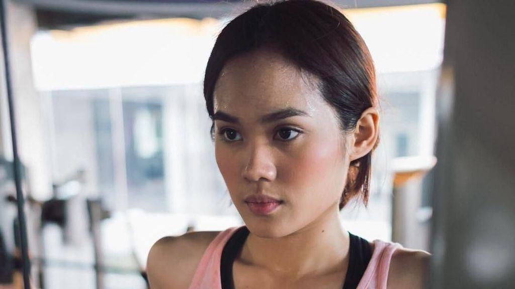 Gaya Sporty Sheryl Sheinafia, Tetap Cantik Meski Basah Berkeringat