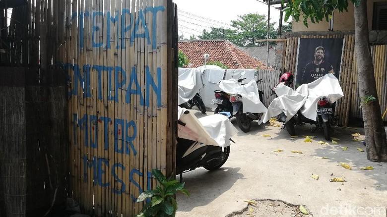 Jasa Tempat Parkiran Foto: Rizki Pratama