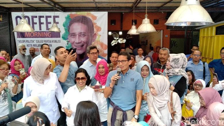 Sandiaga: Partai Demokrat Kokoh untuk Prabowo-Sandiaga