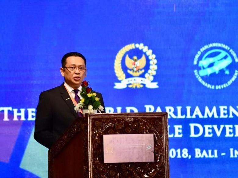 Ketua DPR Ajak Parlemen Dunia Kembangkan Sumber Energi Terbarukan