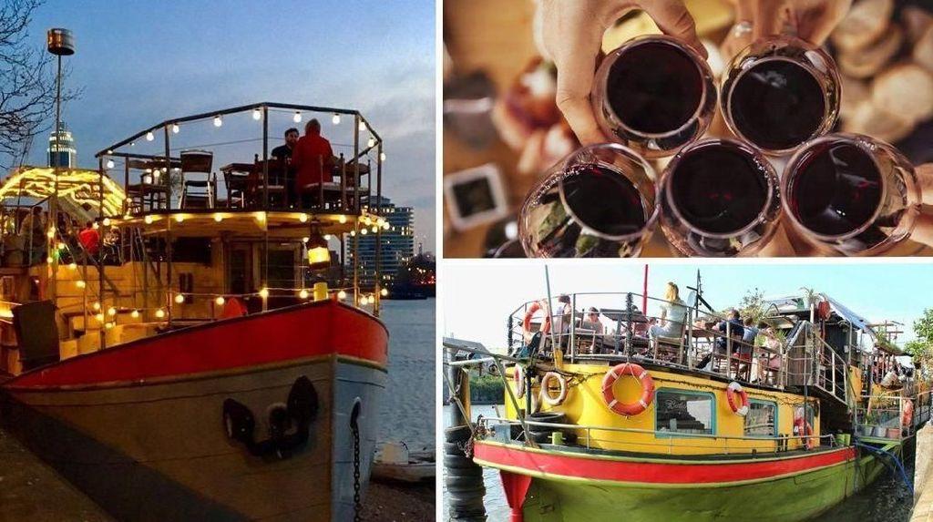 Festival Wine Terapung, Bisa Minum Wine di Atas Kapal di Sungai Thames
