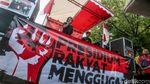 Aksi Bebaskan Meliana di Depan Gedung MA