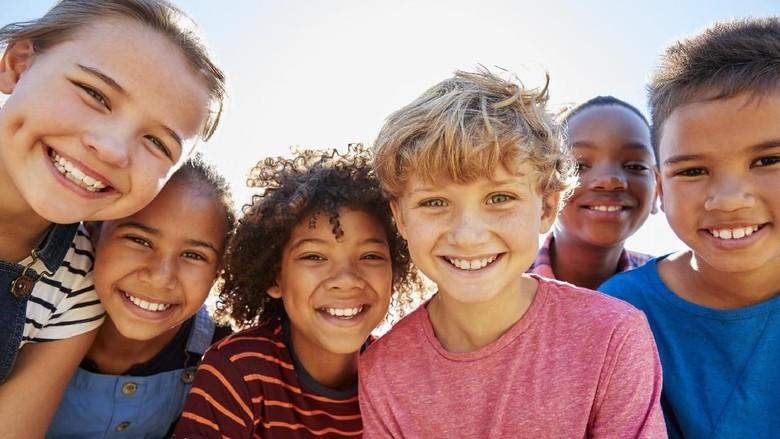 Ilustrasi ajari anak pola hidup sehat/ Foto: Istock