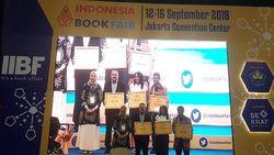 IIBF 2018 Dibuka, Novel Aroma Karsa Raih IKAPI Awards
