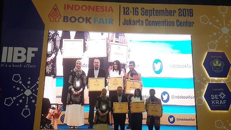 IIBF 2018 Dibuka, Novel Aroma Karsa Raih IKAPI Awards Foto: IIBF