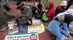 Emak-emak Gempur Mabes Polri Tuntut Keadilan Tagar 2019GantiPresiden