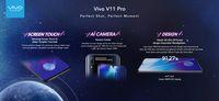 Resmi Meluncur, Ini Spesifikasi Lengkap Vivo V11 dan V11 Pro