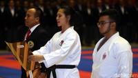 Selain pelantikan, Forki juga menggelar Kejuaraan Daerah (Kejurda) karate DKI Jakarta di lokasi sama, 11-12 September 2018.