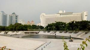 Taman Lapangan Banteng Kini Makin Asyik Buat Olahraga