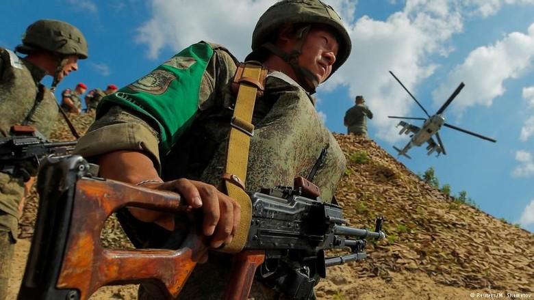 Rusia Ajak China Gelar Latihan Perang Terbesar Sejak Era Uni Soviet