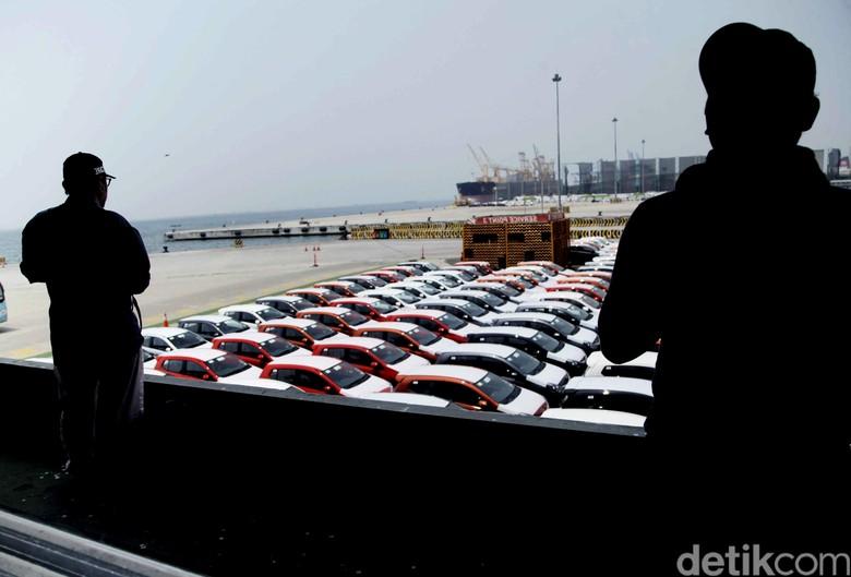 Ekspor mobil. Foto: Pradita Utama