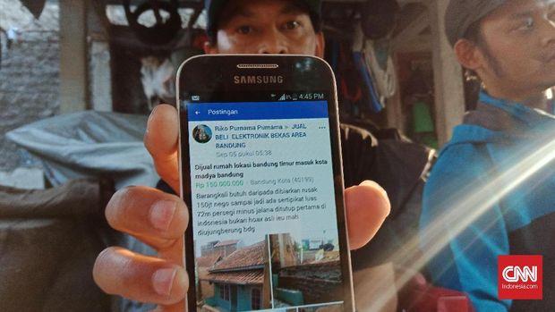 Ratapan Pemilik Rumah Terblokade Tembok Tetangga di Bandung