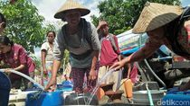 Kekeringan Meluas, BPBD Rembang Kehabisan Dana Droping Air