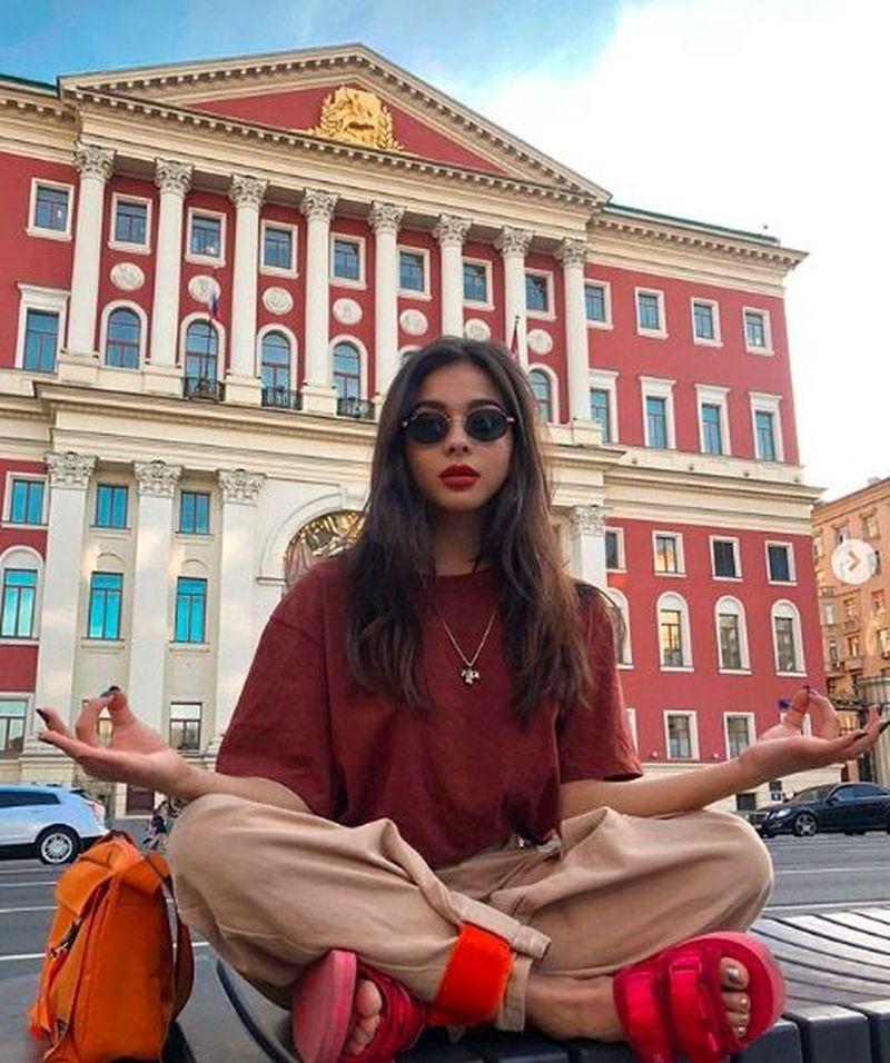 Inilah Diana Korkunova, model dan selebgram Rusia cantik yang berasal dari Moskow (diana_korkunova/Instagram)