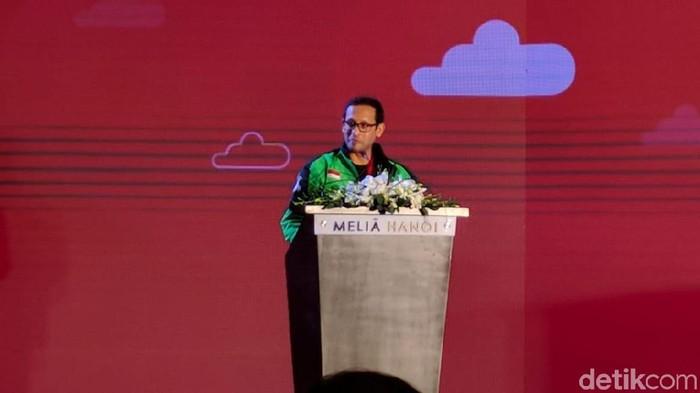 CEO Go-Jek Nadiem Makarim. Foto: detikINET/Adi Fida Rahman