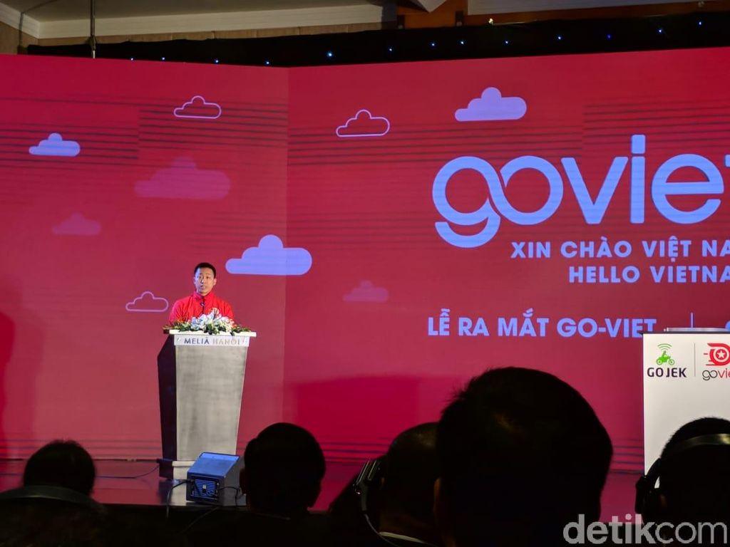 CEO Go-Viet Nguyen Vu Duc mengatakan pihaknya mencoba membangun ekosistem berbagai layanan dan kebutuhan bagi masyarakat Vietnam. Selain itu mereka ingin memanfaatkan kemajuan teknologi untuk meningkatkan kesejahteraan masyarakat. (Foto: detikINET/Adi Fida Rahman)