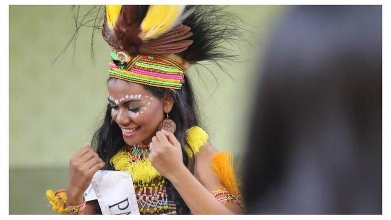 Ilustrasi perempuan Papua. (Foto: BBC Magazine)
