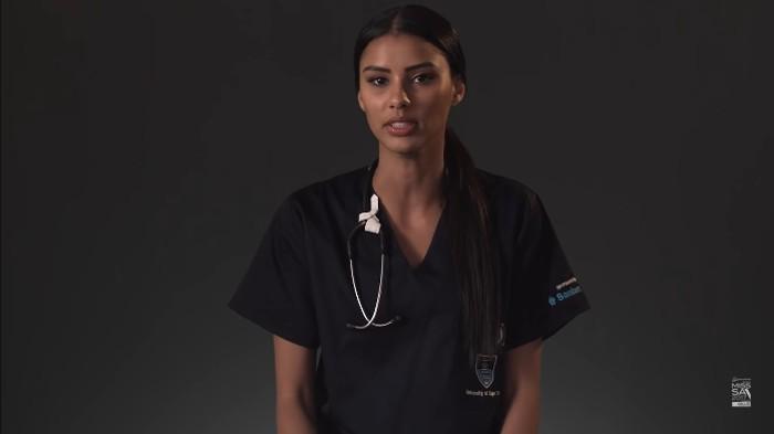 Ratu kecantikan Afrika Selatan berjuang melawan tuberkulosis. Foto: YouTube/Miss South Africa