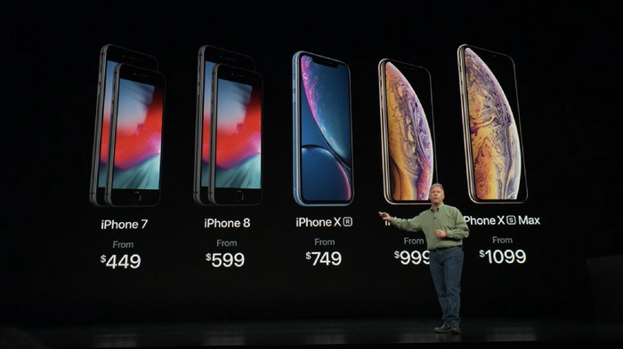 Harga iPhone baru (Foto: Screenshot)