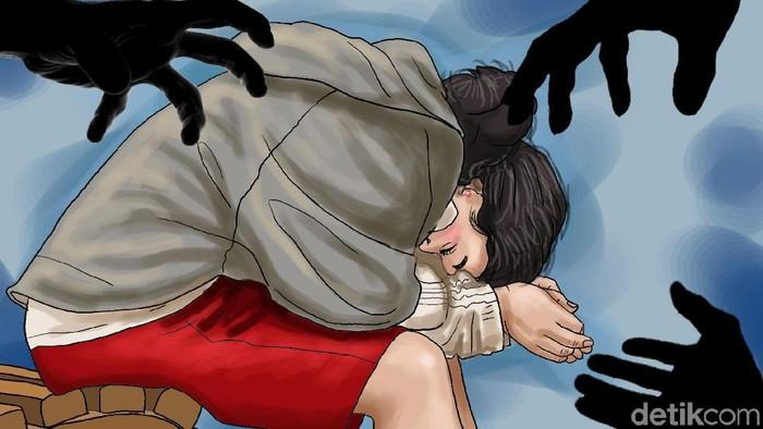 searing perempuan korban perkosaan