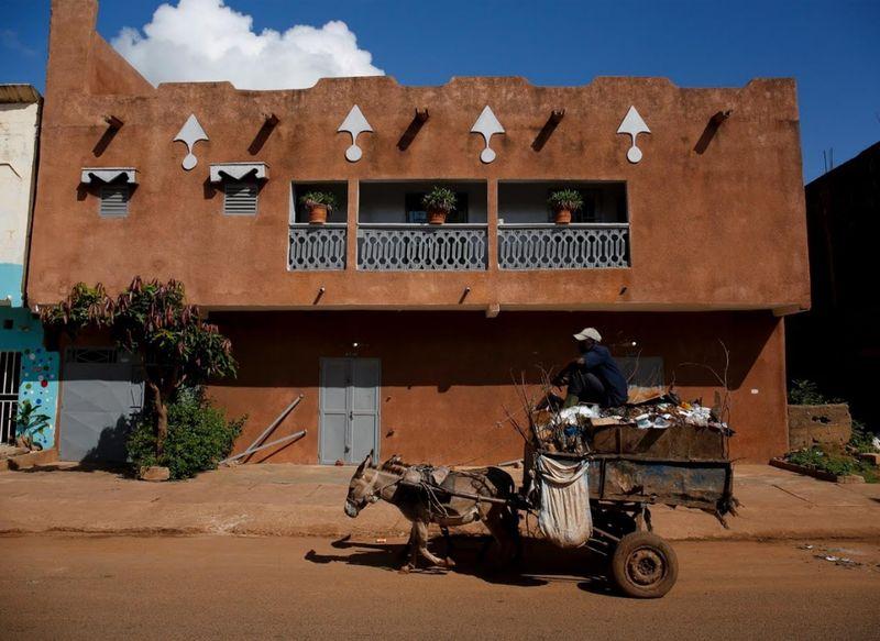 Beginilah pemandangan setiap harinya di Kota Bamako, Mali. Mali adalah negara yang berada di Afrika Barat (Luc Gnago/Reuters)