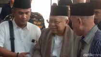 Maruf Amin Silaturahmi ke Warga NU di Jambi