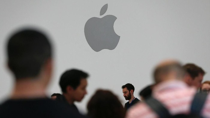 Foto ilustrasi Apple Store: Stephen Lam/Reuters